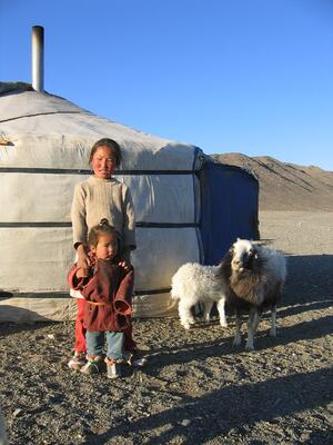 Children with livestock_ Tost Nature Reserve_ Mongolia_ courtesy of Snow Leopard Trust_ with permission from photographer_ Shawna Peckman (1)
