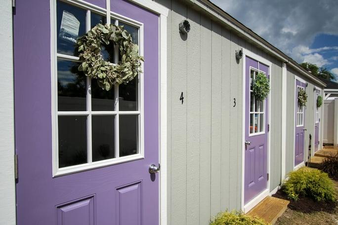 finished sheds