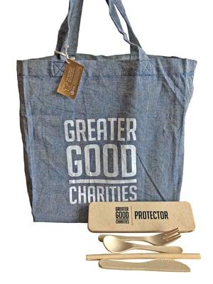 Greater Good Charities Protectors bag