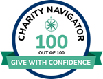 Charity Navigator 100 out of 100 Rating