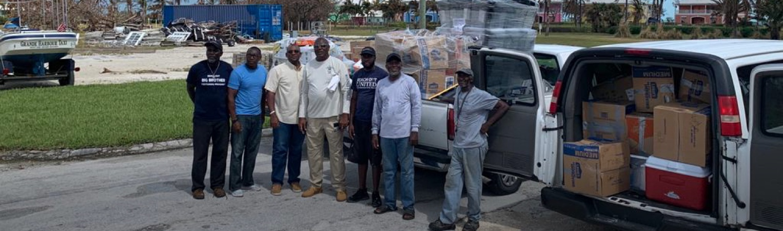 Donations Help Bahamas Citizens After Hurricane